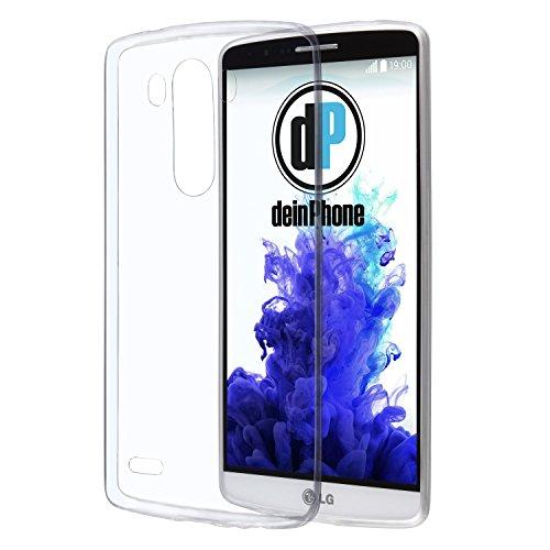 Diseño LG G3 con carcasa de silicona transparente