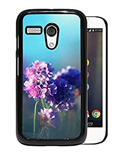 Purple Field Flower Durable High Quality Motorola Moto G Phone Case