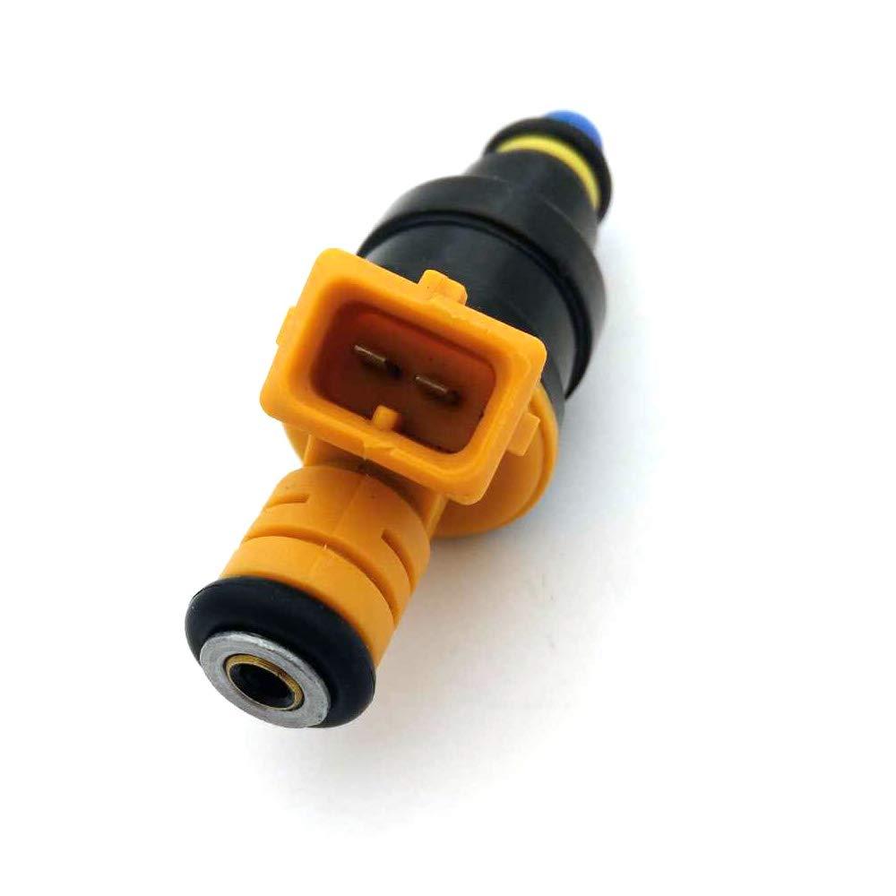Fuel injectors for Ford F150 F250 F350 E150 E250 E350 E450 Mustang Expedition Excursion Crown Victoria Bronco Econoline Lincoln 4.6 5.0 5.4 5.8 V8 4 Holes 0280150943