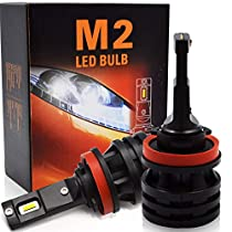 Safego H7 H11 9005 HB3 9006 HB4 H4 LED Car Headlight Bulbs Kit 10000LM 8000lm COB CREE Chip Auto LED Light Conversion Kit 12v Replace for Car Halogen Lights or HID Bulbs