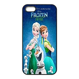 Custom Frozen Posters with Olaf phone Case Cove For Apple Iphone 5 5S Cases XXM9165726