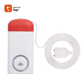 Leepesx WiFi Sensor de Fugas de Agua Detector de Fugas de ...