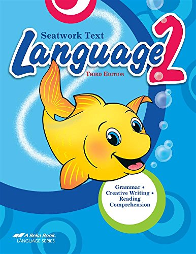 Abeka Language 2nd Grade Homeschool Curriculum for sale  Delivered anywhere in USA