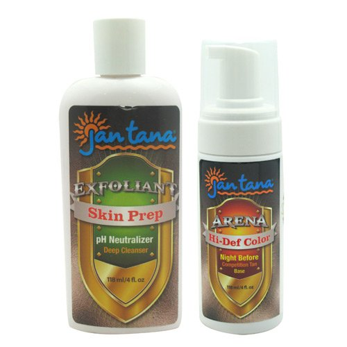 Price comparison product image Jan Tana Hi-Def Color & Skin Prep 2-4 fl oz bottles