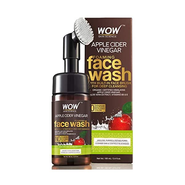WOW Apple Cider Vinegar Face Wash For Pimples India 2020
