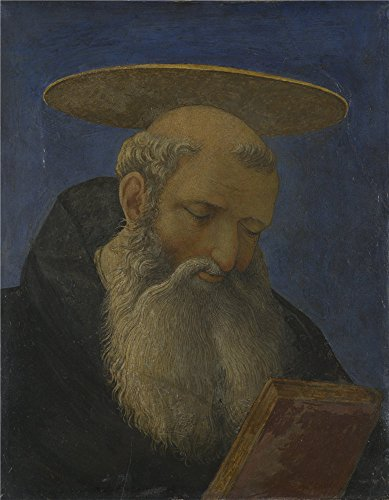 Oil Painting 'Domenico Veneziano Head Of A Tonsured Bearded