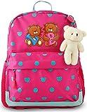 Toddlers Kids Backpack for Girls, Children Preschool Little Bookbag, 12 inch | by LionBalance
