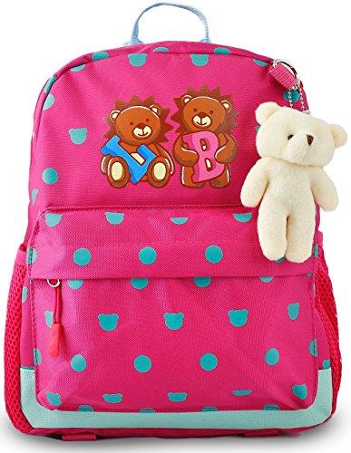 Toddler Kids Backpack for Girls, Children Preschool Little B