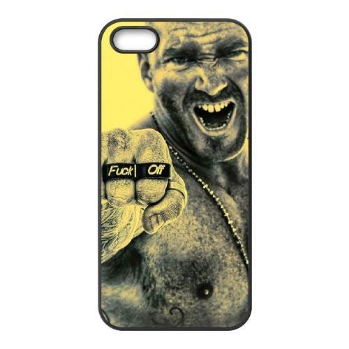 Fuck Off Fist coque iPhone 5 5S cellulaire cas coque de téléphone cas téléphone cellulaire noir couvercle EOKXLLNCD23777