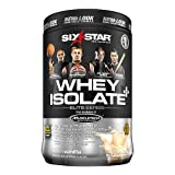 Six Star Professional Strength Whey Isolate Elite Series, French Vanilla Cream 1.5 lbs
