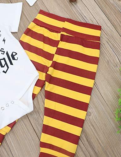 Baby Boy Girl Clothes Coccola Questo Babbano Manica Lunga 3 Pezzi Abiti Pagliaccetto Pantalone, Abito Manica Lunga 6
