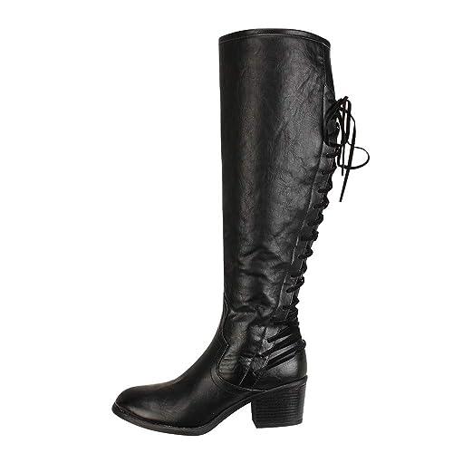 Zarupeng Botas largas, Botas Altas de Cuero de Moda para Mujer Botas Altas de Invierno Botas de Rodilla Atractivas de Invierno: Amazon.es: Zapatos y ...