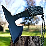 9'' TACTICAL SURVIVAL Combat THROWING AXE Hatchet Hawk TOMAHAWK w/ SHEATH