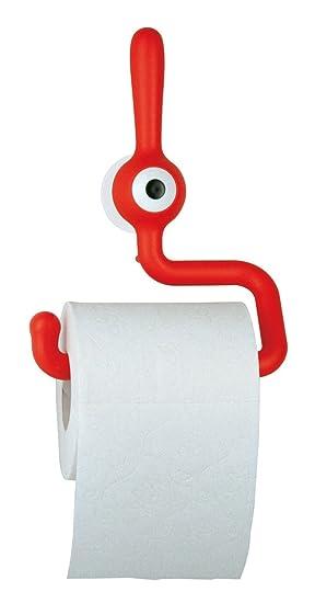 Koziol Porte Papier Toilette Original Toq Rouge Amazon Fr