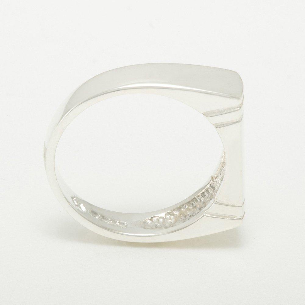 925 Sterling Silver Real Genuine Ruby Mens Wedding Wedding Band Ring