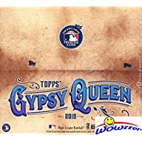 $59 » 2019 Topps Gypsy Queen MLB Baseball MASSIVE Factory Sealed 24 Pack Retail Box with 144…