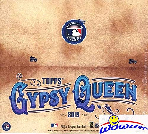 2019 Topps Gypsy Queen MLB Baseball MASSIVE Factory Sealed 24 Pack Retail Box with 144 Cards! Look for Autographs, Memorabilia, Inserts, Short Prints, Parallels, Mini Cards & Much More! WOWZZER!