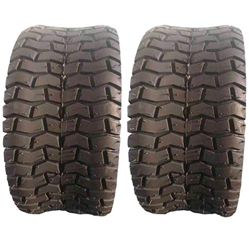 Roadstar 2PC 15x6.00-6 Turf Tires 2 Ply for Lawn and Garden Tractor Mover (Best Trail Tires For Truck)