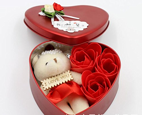 Valentine Beautiful Gifts For Girlfriend with I Love You Message Image