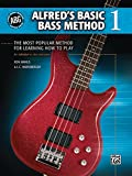 Alfred's Basic Bass Method, Bk 1: The Most Popular Method for Learning How to Play (Alfred's Basic Bass Guitar Library)