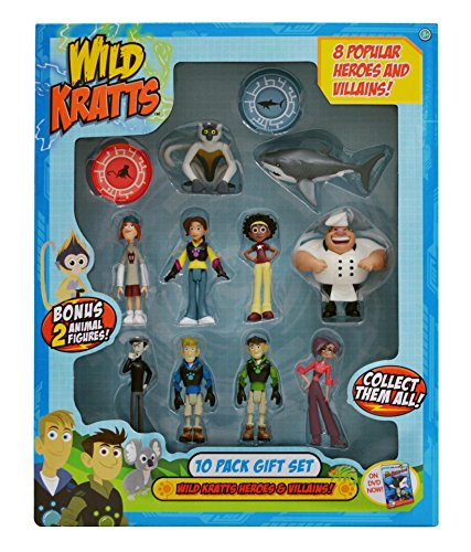Wild Kratts Toys 10 Pack Action Figure Gift Set Buy