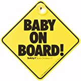 Safety 1st 38000760 Baby On Board Sign