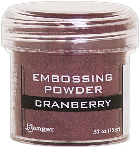 (Ranger Cranberry Metallic Embossing Powder)