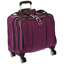 Delsey Luggage Helium Cruise Spinner Trolley Tote, Purple, One Size