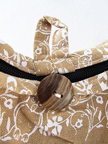 Medium Bag Sling Purse Nude Thai Hobo Shoulder Women Crossbody Owl Boho Hippie for fpP4E