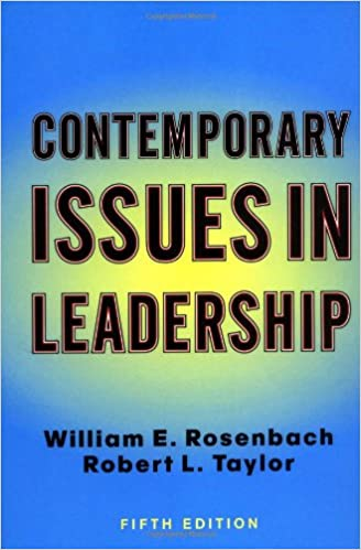 contemporary issues in leadership pdf