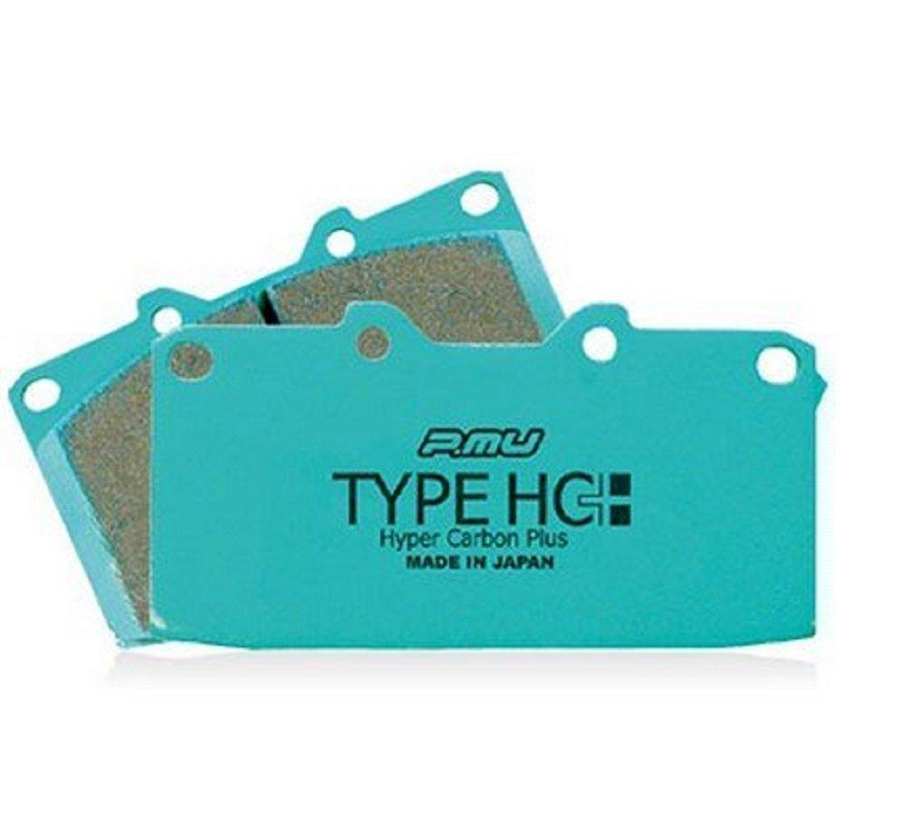 プロジェクトミュー【Project μ】ブレーキパッド Type HC+ 【R520】 コルト COLT Z27AG (RALLIART Ver.R) 06.5~ TypeHC+/R520 B008QQYC9A コルト/COLT/Z27AG/(RALLIART/Ver.R)/06.5~/TypeHC+/R520