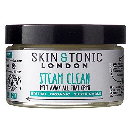 スキン&トニックロンドン蒸気きれいな50グラム x2 - Skin & Tonic London Steam Clean 50g (Pack of 2) [並行輸入品]   B071H9QF2P