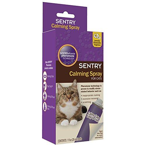SENTRY GOOD behavior Calming Spray for Cats, 1 oz
