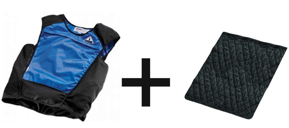 DryKewl Cooling Vest - With Extra Liner Insert - Have a Spare & Double the Cooling - 2X