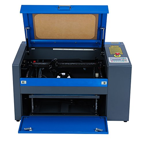 Orion Motor Tech 50W CNC CO2 Laser Engraving Cutting Machine, 110V...