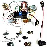 Bartolini HR4.7AP/918 Prewired Active/Passive Preamp Harness 9/18V 3 Band EQ