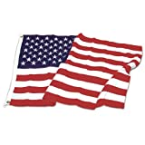 US Flag Store Sewn Polyester US Flag, 6-Feet by 10-Feet