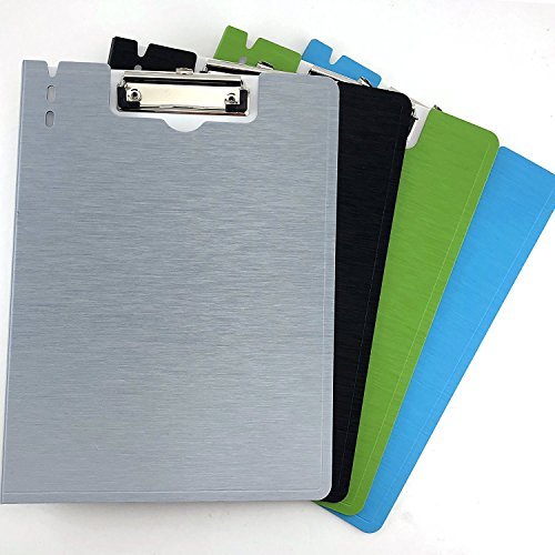 Adorox (4pcs/Set) Standard Size Arch File Cover Folder Clipboard Colorful Mix Assorted Colors (Clip Folder)