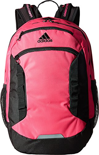 adidas Excel Backpack, Shock Pink/Black/Grey, One Size (Adidas Spring Womens)