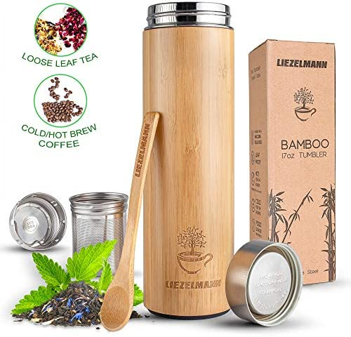 Tumbler Infuser Stainless Strainer Insulated product image