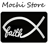 Mochi Faith Entrance Floor Mat Funny Doormat Machine Washable Rug Non Slip Mats Bathroom Kitchen Decor Area