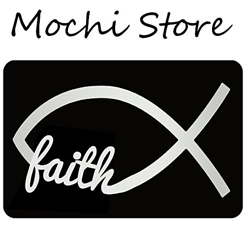 Mochi Faith Entrance Floor Mat Funny Doormat Machine Washable Rug Non Slip Mats Bathroom Kitchen Decor Area 30''(L) by 18''(W) by Mochi