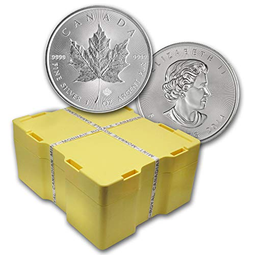 CA 2014 Canada 500-Coin Silver Maple Leaf Monster Box (Sealed) Brilliant Uncirculated