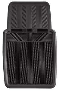 Amazon Com Kraco K2500blk Black Rubber Car Front Mat 1