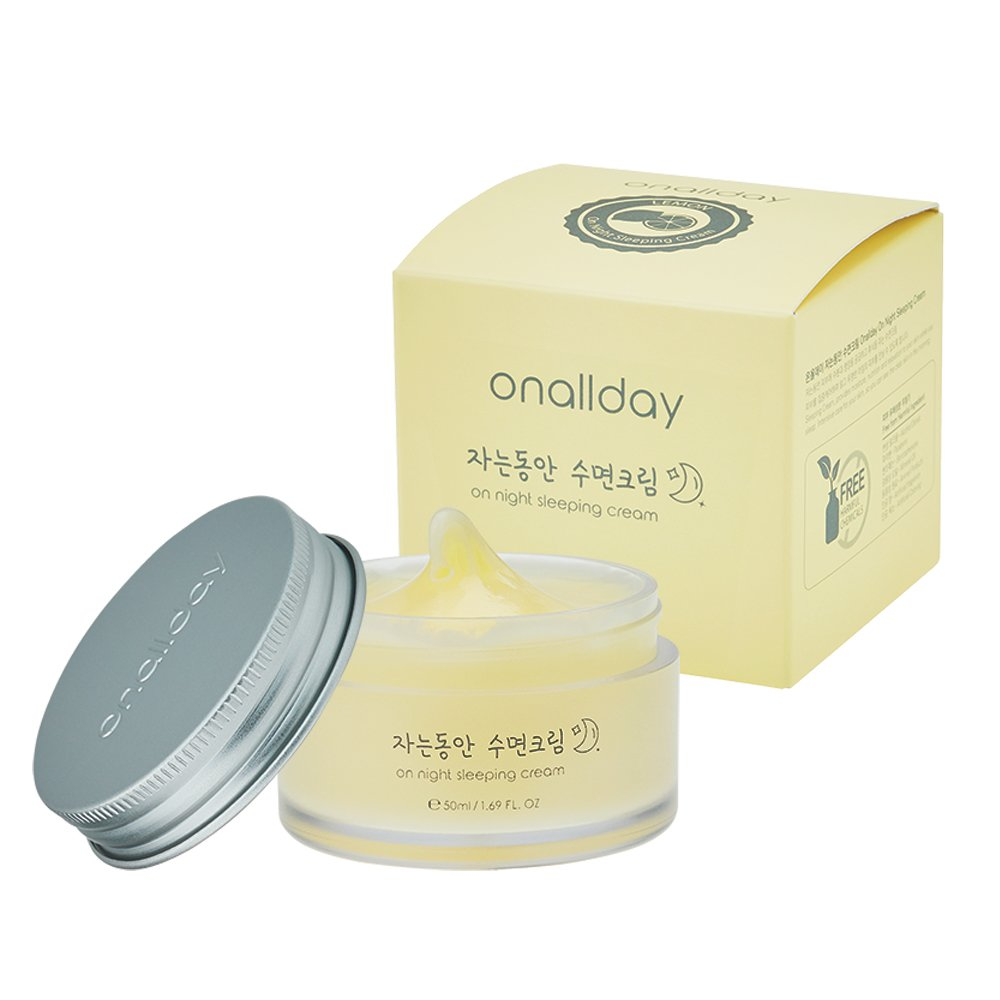 Onallday Hidrata blanqueando tono durmiendo todo el día crema facial 50ml Set, paquete de 3: Amazon.es: Belleza
