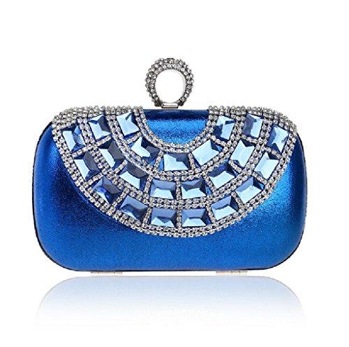 bleu à l'épaule porter YHB430 BESTWALED Sac pour Bleu Bleu 2 à femme qxUA0w