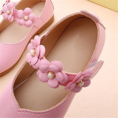 Cat Plates taille Cuir 33 Chaussures Partie Snaked Douces D'enfant Pu Fille Et Le Rose 23 Mariage Soulier Pour En dqgwSnEn