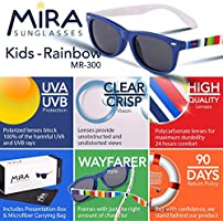 f7bcbea576 MIRA MR-300 Kids Sunglasses - Polarized Lenses with 100% UVA and UVB  Protection. Loading Images.