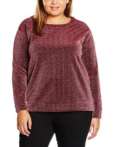 Studio Untold Sweatshirt Glitzer, Sudadera para Mujer Rosa (rot 58)