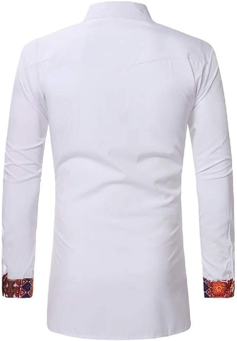 VITryst-Men Classic Non Iron Cargo Pocket Regular Fit-and-Flare Tees